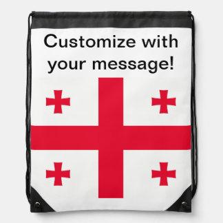 Georgian Flag Backpack