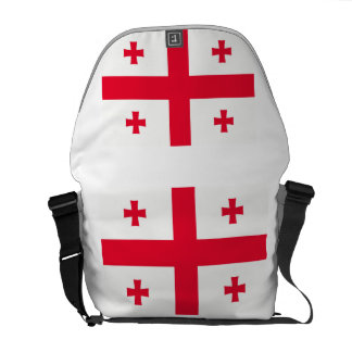 Georgian Flag Messenger Bag
