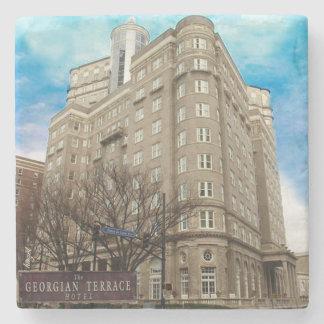 Georgian Terrace Atlanta Landmark Marble Coaster Stone Coaster