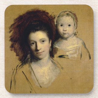 Georgiana, Countess Spencer and her Daughter Lady Coasters