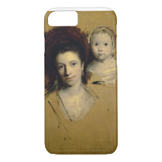 Georgiana, Countess Spencer and her Daughter Lady iPhone 7 Case