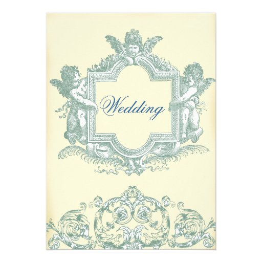 Georgiana (Cream) Wedding Custom Invites