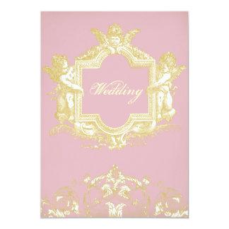 Georgiana (Peony pink) 13 Cm X 18 Cm Invitation Card
