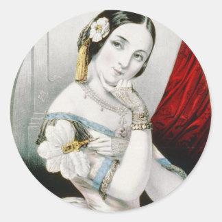 Georgianna Round Sticker