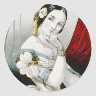 Georgianna Round Stickers
