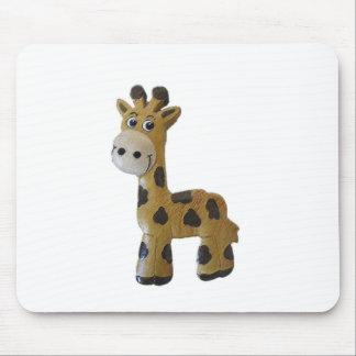 Georgie Giraffe Mouse Pad