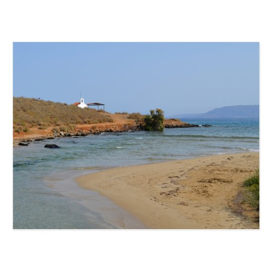 Georgioupoli Beach, Crete Postcard