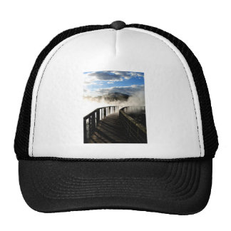 Geothermal Activity at Kuirau Park, New Zealand Trucker Hat
