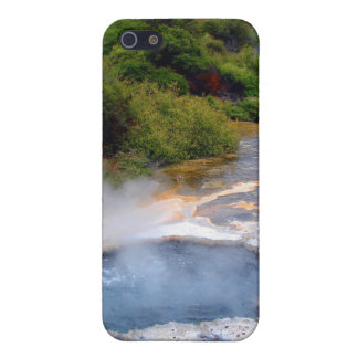 Geothermal Activity near Rotorua, New Zealand iPhone 5 Cover