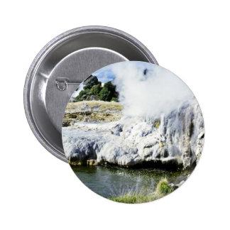 Geothermal Activity, Rotorua, North Island Buttons