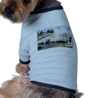 Geothermal Activity, Rotorua, North Island Doggie T-shirt