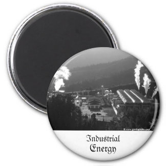 Geothermal instalations 6 cm round magnet