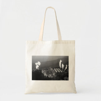 Geothermal instalations budget tote bag