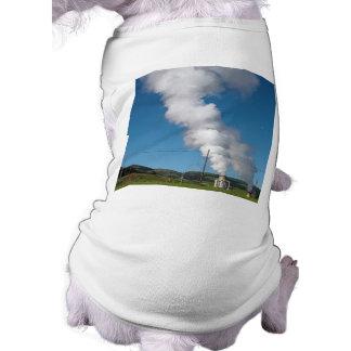 Geothermal instalations pet t shirt