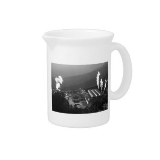 Geothermal instalations drink pitcher