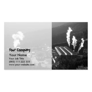 Geothermal instalations pack of standard business cards