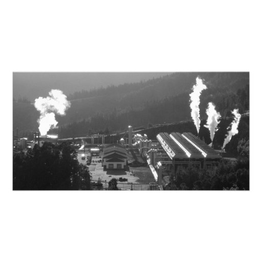 Geothermal instalations custom photo card