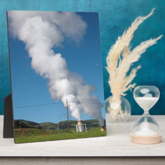 Geothermal instalations photo plaques