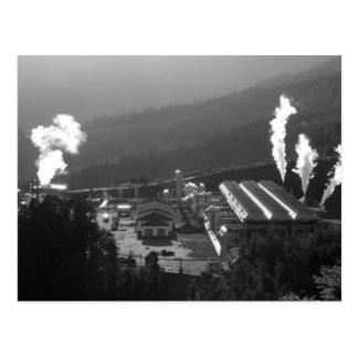 Geothermal instalations postcard