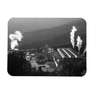 Geothermal instalations flexible magnet