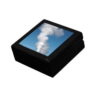 Geothermal instalations small square gift box