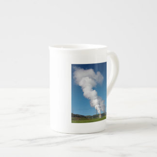 Geothermal instalations porcelain mug