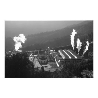 Geothermal instalations stationery paper