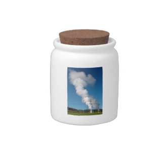 Geothermal instalations candy jar