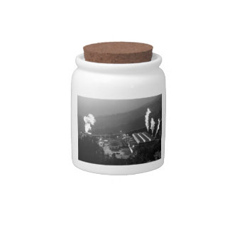 Geothermal instalations candy jars