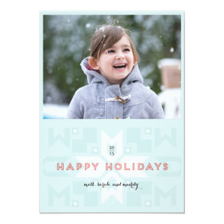 Geovert One-Photo Holiday Card