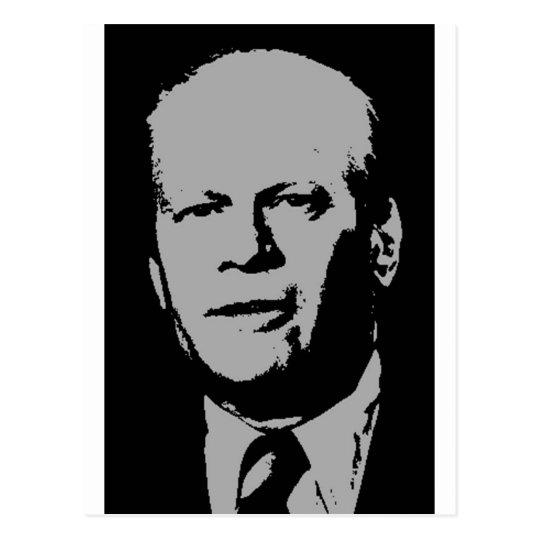 Gerald Ford Postcard