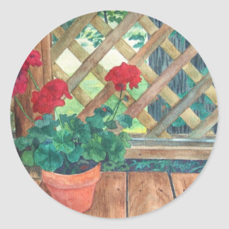 Geranium (Gardener's) Stickers