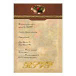 Geranium - Geraniums on a table Personalized Invite
