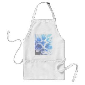 geranium  in the garden standard apron