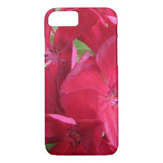 Geranium Plant Red Floral iPhone 7 Case