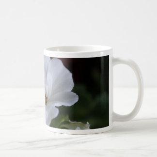 Geraniums Basic White Mug