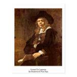 Gerard De Lairesse By Rembrandt Van Rijn Postcard
