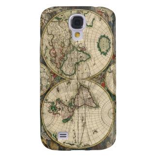Gerard Van Schagen's Map of the World, 1689 Galaxy S4 Case