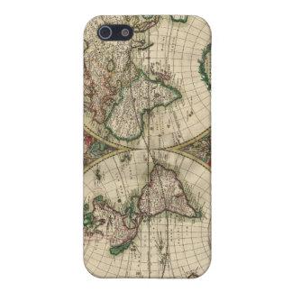 Gerard Van Schagen's Map of the World, 1689 iPhone 5 Cases