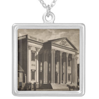 Gerards Bank in Philadelphia Silver Plated Necklace