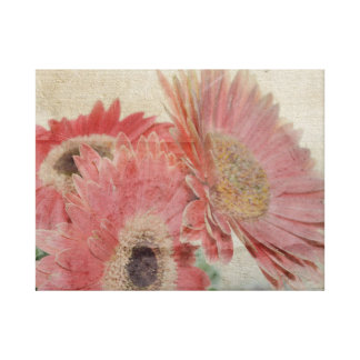 Gerber Daisies Gallery Wrapped Canvas