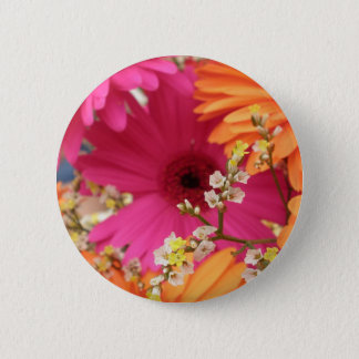 Gerber Daisy 6 Cm Round Badge