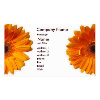 Gerber Daisy Business Card