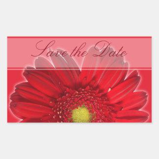 Gerber Daisy Custom Floral Sticker