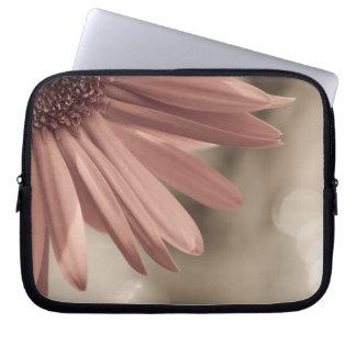 gerber daisy laptop sleeves