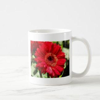 Gerber Daisy Watercolor Mug
