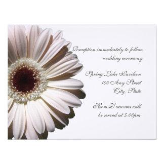 Gerber Daisy Wedding Custom Invites