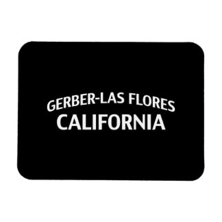 Gerber-Las Flores California Vinyl Magnet