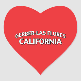 Gerber-Las Flores California Stickers