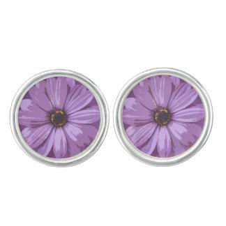 Gerbera Asteraceae - Cufflinks